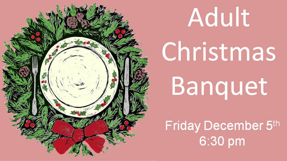 Adult Christmas Banquet